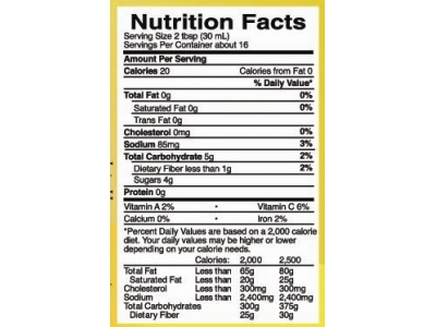blueberry_vodka_salsa_nutritional_facts