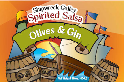 Olives & Gin Gourmet Salsa